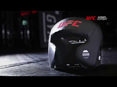 UFC Contender Synthetic Leather Open Face Training Head Gear
