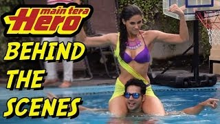 getlinkyoutube.com-Behind the scenes of the Making of Main Tera Hero