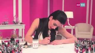 getlinkyoutube.com-Tutorial di nail art - nail art stile Beyoncé - Nail lab con Mikeligna