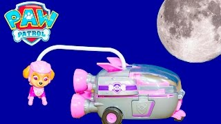 Paw Patrol Nickelodeon Skye Rocket Ship Video Toy Unboxing