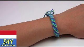 getlinkyoutube.com-membuat Gelang/ Tali Persahabatan dari Benang Wol - friendship bracelet tutorial diy indonesian