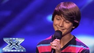 "getlinkyoutube.com-Stone Martin - Little Guy Rocks ""Little Things"" - THE X FACTOR USA 2013"