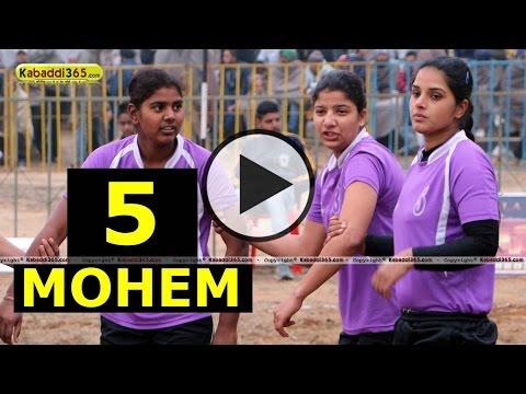 Mohem (Nakodar) Kabaddi Tournament 14 Jan 2014 Part 5 By Kabaddi365.com