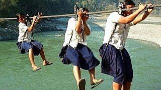 getlinkyoutube.com-Die 5 Gefährlichsten Schulwege!