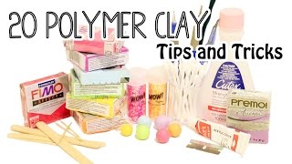 getlinkyoutube.com-20 Polymer Clay Tips and Tricks for Beginners
