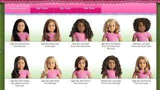 getlinkyoutube.com-Creating My American Girl Doll | Who should I Choose | Customization | Doll Selector | 40 total