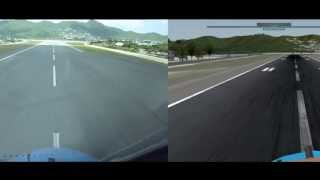 getlinkyoutube.com-X-Plane 10 vs Reality - KLM B747 @ St Maarten