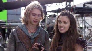 getlinkyoutube.com-(Poppy Drayton France) Behind The Scene The Shannara Chronicles 1x06