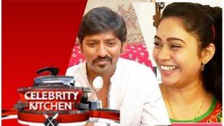 getlinkyoutube.com-Actress Sandhya and Actor Sakthi in Celebrity Kitchen (30/11/2014)