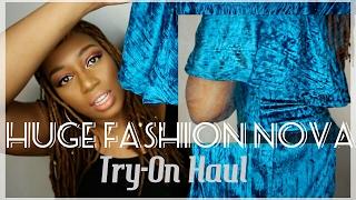 getlinkyoutube.com-Huge Fashion Nova Try-On Haul 17'