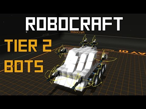 Robocraft - Tier 2 Robot Building!