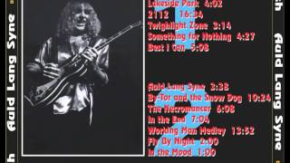 RUSH - In The End - All The World's A Stage Tour 1976 (full)
