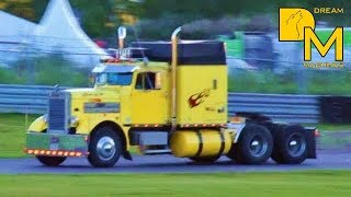 BEST JAKE BRAKE EVER ♫ MUST SEE!!! AWESOME PETERBILT SOUND custom truck