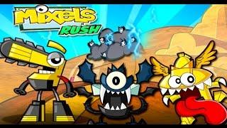 getlinkyoutube.com-Mixels Rush - Secret Levels Gameplay Walkthrough Part 3