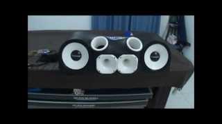 getlinkyoutube.com-Caixa Fibra Médio Grave - 02 Tomahawk Plus 10 + 02 Titanium 2540 Oversound + SD250.2d