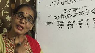 Rules and definitions of CHAND संस्कृत : छंद (काव्यशास्त्र ) इन्द्रवज्रा LESSON 1