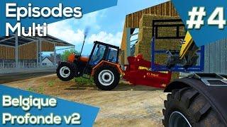 getlinkyoutube.com-FS 15   Les Episodes multi carrière moddée   #4 Belgique Profonde