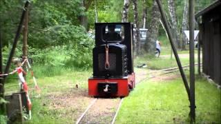 getlinkyoutube.com-Feldbahn: Wiederöffnung Kurbahn Bad Bramstedt Juni 2013