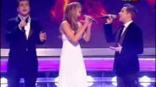 getlinkyoutube.com-Westlife & Delta Goodrem -  All Out of Love (Live @ X Factor