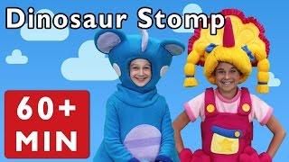 getlinkyoutube.com-Dinosaur Stomp and More | Nursery Rhymes from Mother Goose Club!