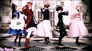 getlinkyoutube.com-【APヘタリアMMD】 Carry Me Off [Nyotalia Allied Forces]