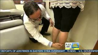 getlinkyoutube.com-Dr. David Amron Performs Calf and Ankle Liposuction for ABC's Good Morning America