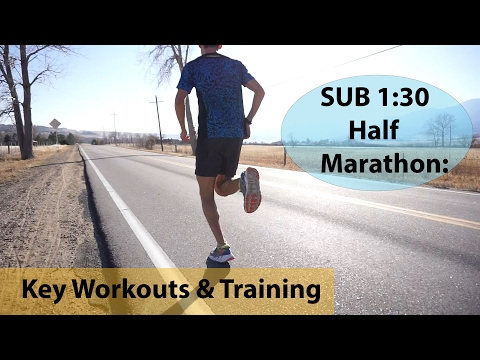 HOW TO RUN A SUB 1:30 HALF MARATHON: Training tips & workouts | Sage Running