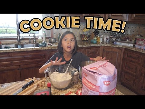COOKIE TIME!!! Baking with Jillian!
