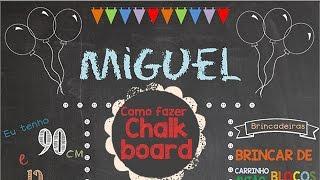getlinkyoutube.com-Como fazer Chalkboard - Passo a Passo com download