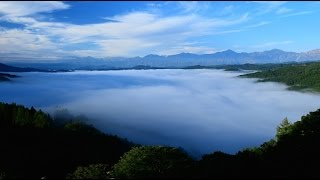 getlinkyoutube.com-北アルプス一望 雲海の大望峠・4K撮影