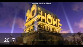 getlinkyoutube.com-20Th Century Fox Home Entertainment Logos History
