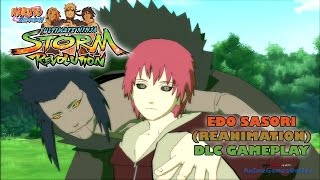 getlinkyoutube.com-Edo Sasori (Reanimation) DLC Gameplay - Naruto Shippuden Ultimate Ninja Storm Revolution