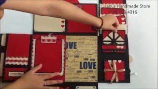 getlinkyoutube.com-SCRAPBOOK MINI |scrapbook handmade by hanla