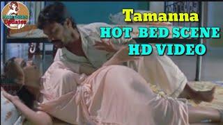 Beauty queen Tamanna hot bed scene