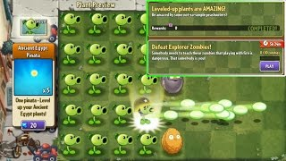getlinkyoutube.com-Plants vs. Zombies 2 - New quest: Leveled-up plants are AMAZING!