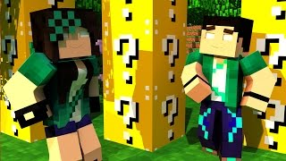 getlinkyoutube.com-Minecraft com Namorada: A JOGADA MAIS INCRÍVEL - PVP CHALLENGE GAMES - Lucky Block Mod