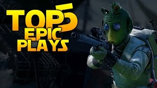 getlinkyoutube.com-Star Wars Battlefront TOP 5 PLAYS: 17 SNIPES IN A ROW!