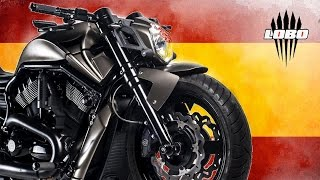 "getlinkyoutube.com-Harley Davidson Night Rod ""Lobo 1"" by Lobomotive 