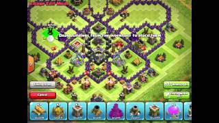getlinkyoutube.com-Th9 butterfly farming base layout w/4th mortar speed build