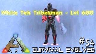 ARK: SURVIVAL EVOLVED - NEW UPDATE TEK TRIBESMAN !!! E54 (MODDED ARK EXTINCTION CORE)