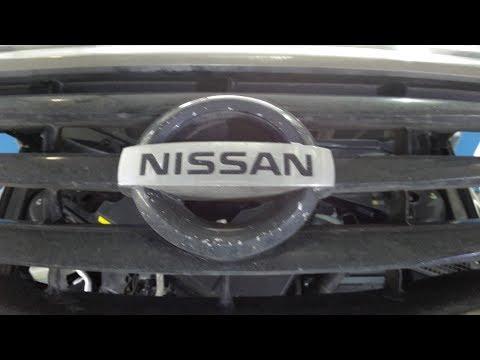 Как снять генератор Nissan Teana.