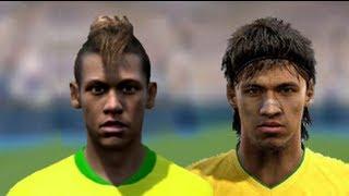 FIFA 13 v PES 13 Faces Head to Head [HD] part 1
