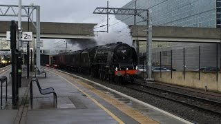 getlinkyoutube.com-46233 Duchess of Sutherland 'The London Explorer' 14th November 2015