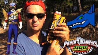 getlinkyoutube.com-Power Rangers Dino Super Charge Talon Morph