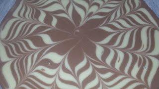 getlinkyoutube.com-كيكة الحمار الوحشي المزخرفة على شكل وردة رقم 2 بجوز الهند اللذييذ