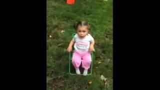 getlinkyoutube.com-Little girl doing the ice bucket challenge (FUNNY)