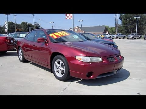 2002 pontiac grand prix gt start up exhaust and in depth tour