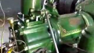 getlinkyoutube.com-Ruston HR6 6HR Diesel Engine Tube well Working Original video