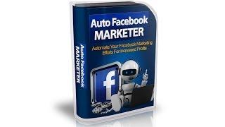 getlinkyoutube.com-AutoFBMarketer - Tutorial en Español - Auto Facebook Marketer