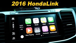 getlinkyoutube.com-2016 Honda Accord Infotainment Review - With Android Auto and Car Play